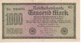 BILLETE DE ALEMANIA DE 1000 MARK DEL AÑO 1922 SERIE Ee (BANKNOTE) SIN CIRCULAR-UNCIRCULATED - [ 3] 1918-1933 : República De Weimar