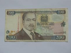 200 Shilingi Mia Mbili - Central Bank Of KENYA -  **** EN ACHAT IMMEDIAT **** - Kenya
