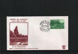 Ecuador 1960 Interesting FDC - Equateur