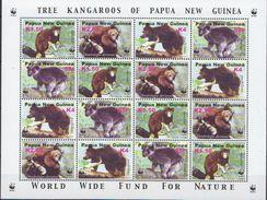 Papua New Guinea MNH WWF Sheetlet - W.W.F.