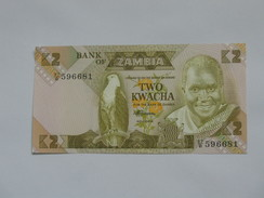2 Two Kwacha - ZAMBIE **** EN ACHAT IMMEDIAT ****  Proche Du Neuf . - Zambia