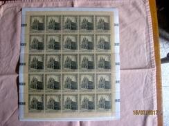 San Marino: 40 Lire Série Cathédrales 1967 - Blocs-feuillets