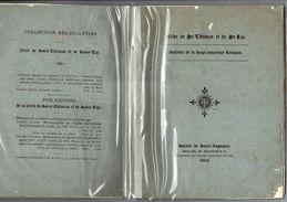 1892 Gilde De St Thomas Et De St Luc Belgique Et Pays-Bas. Bcp D'excursions Racontées Avec Gravures Hors Texte. - Religion & Esotérisme