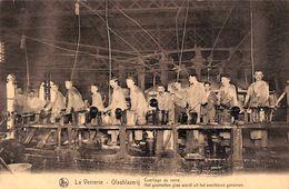 La Verrerie - Glasblazerij - Cueillage Du Verre (top Animation, Carte D'honneuur, Berchem 1923) - Seraing