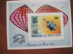 Upper Volta 1974 UPU Congress  S/s Block MNH - Upper Volta (1958-1984)