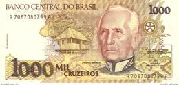 BRAZIL 1000 CRUZEIROS ND (1991) P-231c UNC SIGN. MOREIRA & GROS [BR853b] - Brazil