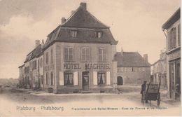 57 - PHALSBOURG - RUES DE FRANCE ET DE L'HOPITAL - NELS SERIE 156 N° 4' - Phalsbourg