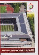 Panini Football Euro 2008 Uefa Sticker European Championship Nr 39 Stadium Stade De Suisse Wankdorf Bern - Sports