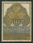 Suisse // Schweiz // Switzerland // Erinnophilie // Vignette ,Landesausstellung  Bern 1914 - Erinnophilie