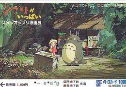 RARE CARD Japon MANGA MIYAZAKI (15.634) MY NEIGHBOR TOTORO  * JAPAN ANIME Prepaidcard - Film