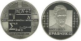 Ukraine - 2 Hryvni 2012 UNC Mikhail Kravchuk Mathematician Lemberg-Zp - Ukraine