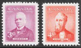Canada - Scott #318-19 MNH (2) - Unused Stamps