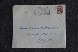 Timbre Sur Lettre : Y Et  T : N° 1216 - Marcofilia (Sellos Separados)