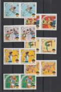Madagascar - J.O Barcelone 1992 ( Gym, Saut, Tir à L'arc, Cyclisme, Hatlérophilie, Boxe) ** N°1061-67  PAIR MNH Ref M605 - Summer 1992: Barcelona