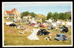 SN104) Uddevala - Skeppsviken - Camp Ground - 1950s Cars - Sweden