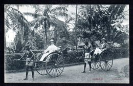 SR49) Ceylon - Colombo - Ginfiskshas - Rickshaws - Sri Lanka (Ceylon)
