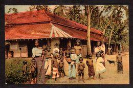 SR52) Ceylon - Along The Roadside - Women & Naked Children - Posted 1906 - Sri Lanka (Ceylon)