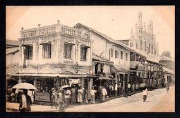 SR54) Ceylon - Kandy - Castly Hill Street - Sri Lanka (Ceylon)