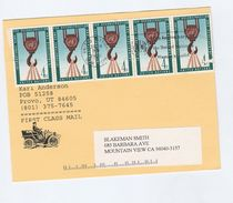 1998 UNITED NATIONS COVER (card) From Anderson STAMP DEALER With SLOGAN Pmk 50th Anniv UN WOMENS GUILD, - New York – UN Headquarters