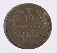 Pièce De Monnaies Italie - 10 Centimes 1894 BI - Monnaies