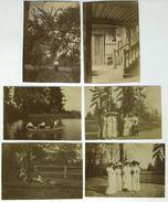 Lot De 8 Photos. La Bazoche Gouet (Eure-et-Loir). Beauregard. 1907-1911. - Lieux