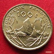 French Polynesia 100 Francs 2008 KM# 14a Polynesie Polinesia - Polynésie Française
