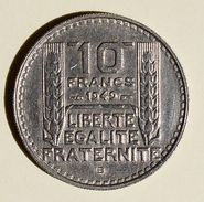 Pièce De Monnaies France - 10 Franc Turin Petite Tete - 1949 B - France