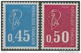 "FR YT 1663 & 1664 "" Marianne Becquet "" 1971 Neuf** - Francia"