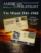AMERICAN PHILATELIST Magazine Jan 2014 FAM 22 TransAtlantic Air Mail, India-USA Relations - Magazines