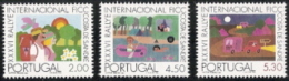 Portugal,  Scott 2017 # 1257-1259,  Issued 1975  Set Of 3,  MNH,  Cat $ 5.30,  Hikers - Unused Stamps