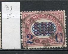 Italie 1878 Y&T N°31 Oblitéré - Used - Gestempelt - 1861-78 Victor Emmanuel II