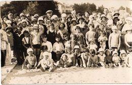 LE POULIGUEN ... CARTE PHOTO DE GROUPE - Le Pouliguen