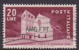 Trieste Allied Military Government S 42 1949 1st Trieste Free Election Used - 7. Trieste