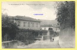 CPA  06 NICE SAINT ISIDORE Route De La Glacière ( Peu Commune ) - Nizza