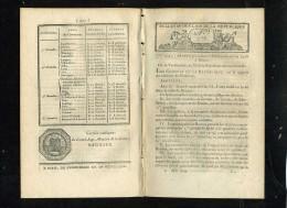 1929-bulletin Des Lois-ref-35571   N° 286 Lycée à Rennes    Etc.. 8 Pages An10-serie-3-tome-8 - Decrees & Laws