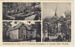 Gasthof Und Pension Beisler, .. , Mantinghausen über Lippstadt - Um 1950 Dortmunder Union Bier Reklame - Paderborn
