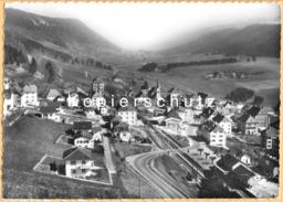 CH - Renan BE B. La Chaux-de-Fonds - Flugaufnahme Mit Bahnhof/Gare - Feldpost - BE Berne