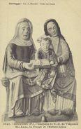 D 29 - GOUEZEC - Chapelle De ND De Tréguzon - Ste Anne - La Vierge Et L'Enfant Jésus - Gouézec