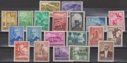 -  TURKEY - 1943 Set Of 20 - Train, Sheep, Views. Scott 896-915. MNH ** - Unused Stamps