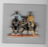 Pin´s  Zamac, Animaux  Chevaux  BERCY 92 - PARIS  HORSE  SHOW  Signé  ARTHUS  BERTRAND - Animaux