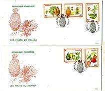 Rwanda COB 1305/1309 Fruits - Rwanda