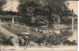 DE CHAMPIGNY A LA VARENNE - Le Pont De Champigny -- 1916 -- - Joinville Le Pont