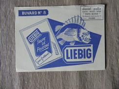 """Buvards -Buvard - N°8  Liebig - Soupe De Poisson - Daniel Pallix Bijoutier """"paris Bijoux """" Reims - Alimentaire"""
