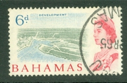 Bahamas: 1965   QE II - Pictorial    SG253   6d   Used - Bahamas (...-1973)
