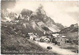 Z3106 Passo Rolle (Trento) - Panorama Col Monte Cimone E La Vezzana / Viaggiata 1951 - Italie
