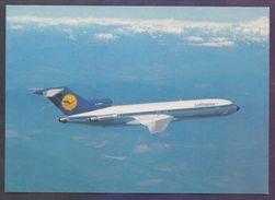 POSTCARD - LUFTHANSA AIRBUS B727 Aeroplane, Unused - 1946-....: Moderne