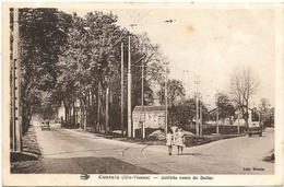 Couzeix NA1: Arrivée Route De Bellac 1939 - Autres Communes