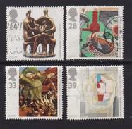 UK, 1993, Cancelled Stamp(s) , EUROPA Art,  1451-1454 #14572 - 1952-.... (Elizabeth II)