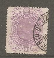 BRESIL Yv N°  71 (o)  200r  Croix    Cote  2 Euro  BE  2 Scans - Brasil