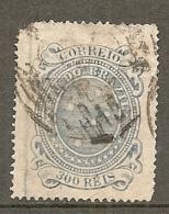BRESIL Yv N°  72a (o)  300r  Gris-bleu Croix    Cote  6 Euro    2 Scans - Oblitérés